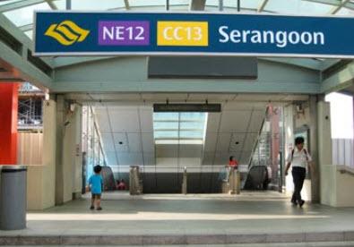 Forestwoods Serangoon MRT Station Interchange