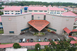 St Gabriel's Secondary School near Forest Woods CDL Serangoon
